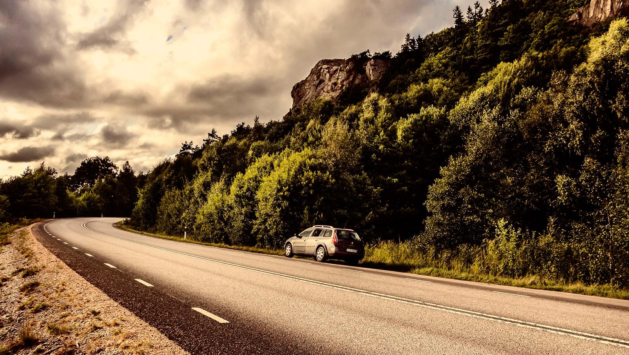 hyra bil utomlands försäkring
