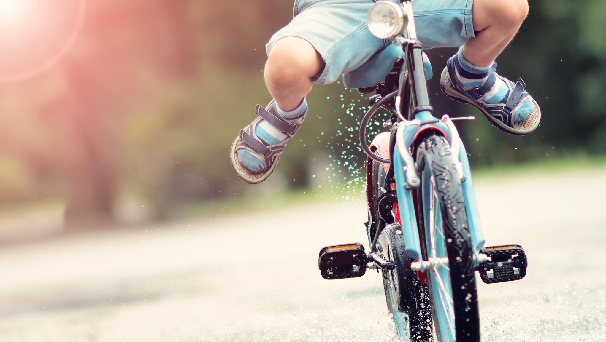 Barn på cykel – Tips om hur barn cyklar säkrare  ca5ca91e86d66